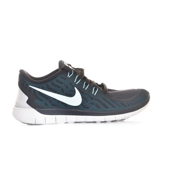 huge selection of 37ae3 c906a Basket - Nike - SPORTIF NIKE FREE RUN 5.0 BLEU SYNTHÉTIQUE