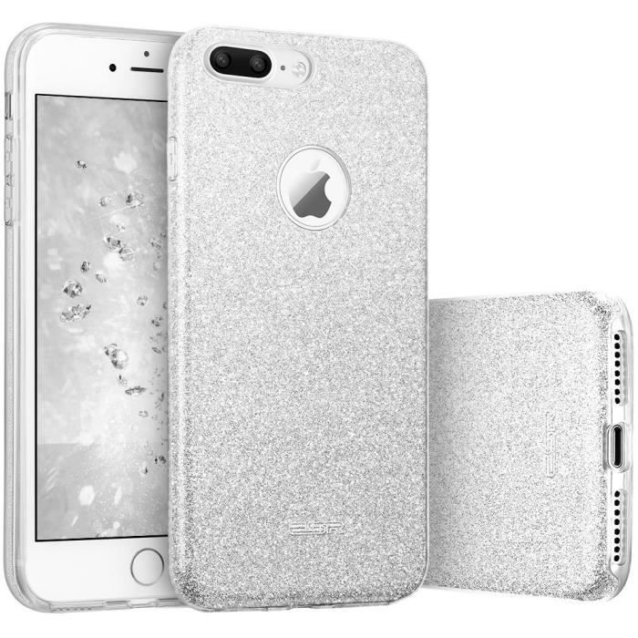 coque a paillette iphone 8