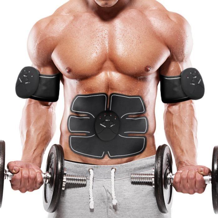 Stimulateur Muscle /Électronique Toner Musculaire Abdominal Machine Intelligent Portable Accueil AB Toner pour Hommes Femmes Poids Amaigrissant