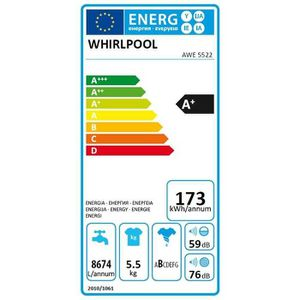 WHIRLPOOL AWE5522 Lave Linge top