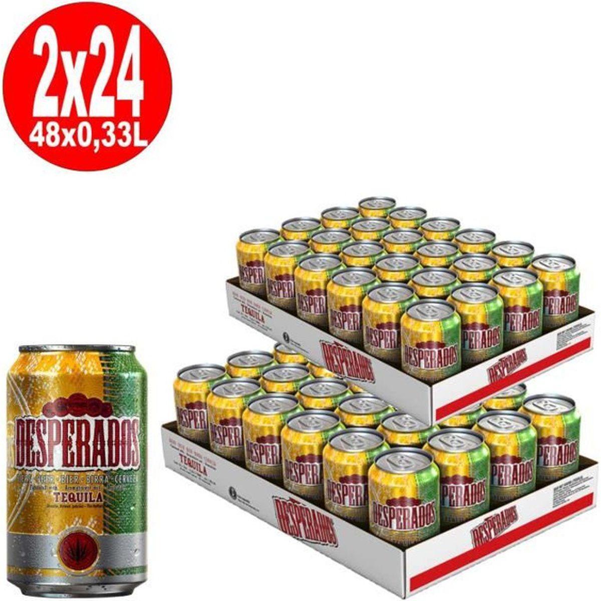 2 X Biere Desperados Tequila 24x 0 33 L 48 Canettes 5 9 Vol One Way Achat Vente Biere 2 X Biere Desperados Tequil Cdiscount