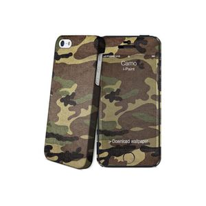 I-PAINT Coque iPhone 5/5S/SE - Camouflage