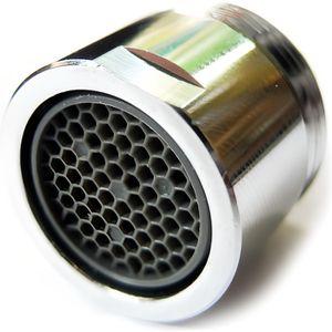 couleur: argent/é Filtre rotatif d/économiseur deau de 360 degr/és da/érateur de diffuseur de diffuseur de filtre de buse de filtre daiguille de filtre /à bulles