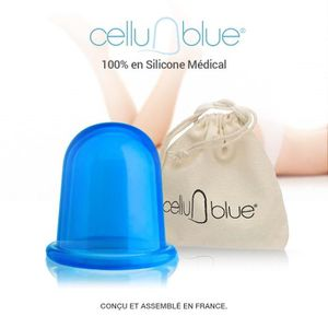 MINCEUR - CELLULITE CelluBlue-La ventouse Anti cellulite