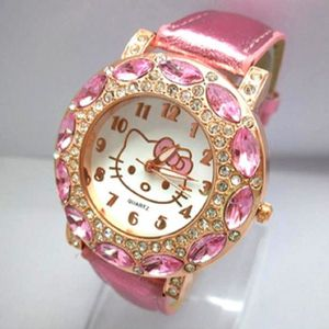 MONTRE Montre Hello Kitty/ Bracelet cuir