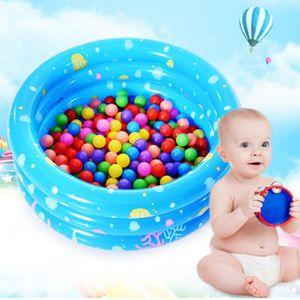 PATAUGEOIRE Piscine gonflable de 80 verges (1 piscine + 1 pomp