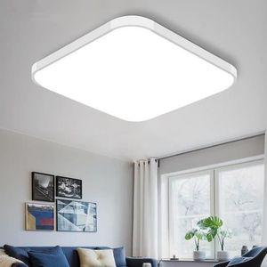 PLAFONNIER 24W Plafonnier 30x30cm Lampe de plafond LED Eclair