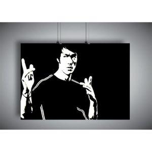 AFFICHE - POSTER Poster BRUCE LEE ART OF WING CHUN 03 Wall Art  - A
