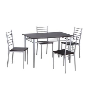 table et chaises achat vente table et chaises pas cher cdiscount. Black Bedroom Furniture Sets. Home Design Ideas