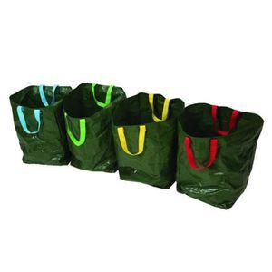 SIGNALÉTIQUE DÉCHETS Lot de 4 sacs de tri sélectif 400 x 320 x 320 mm -