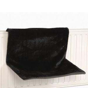 CORBEILLE - COUSSIN Hamac de radiateur pour chat 'Sleepy' noir