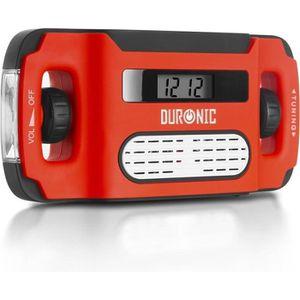 RADIO CD CASSETTE Duronic Apex Radio - Alarme - Lampe Torche - Charg