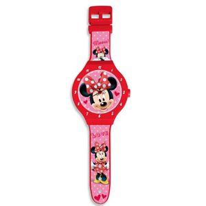 HORLOGE - PENDULE Horloge murale Minnie Mouse XL 47 cm montre Disney