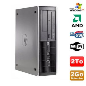 UNITÉ CENTRALE  PC HP Compaq 6005 Pro SFF AMD 3GHz 2Go DDR3 2To SA