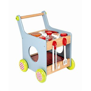Chariot Barbecue 2 en 1 Janod + accessoires