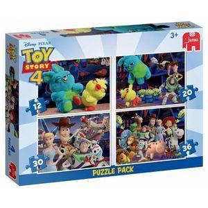 PUZZLE puzzle 4-en-1 Toy Story 4 12-20-30-36 pièces