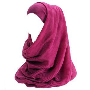 ECHARPE - FOULARD Maxi Hijab pour Femmes Foulard Écharpe Turban Châl