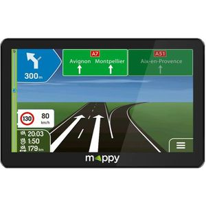 GPS AUTO MAPPY GPS camping-car 7