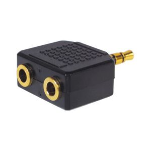 CÂBLE TV - VIDÉO - SON MHP ® 3,5 mm stéréo Jack Splitter bloc iPod MP3…