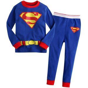 Ensemble de vêtements 2-7 Ans Tenue Enfant Filles Pyjamas Automne Hiver