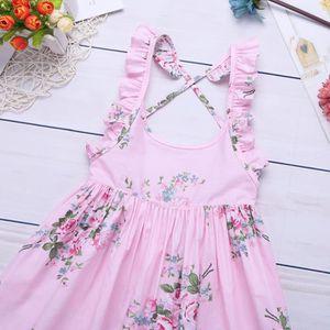 ROBE Robe Princesse à bretelle Bébé Enfant Fille Coton