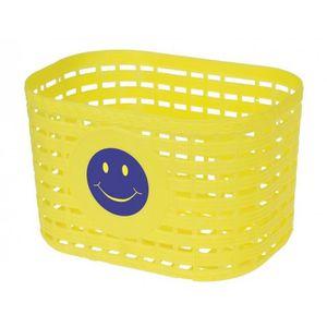 PANIER - SACOCHE VÉLO panier de vélo smiley junior 3,5 litres jaune