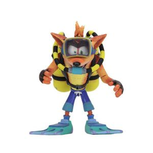 FIGURINE - PERSONNAGE Figurine DELUXE Crash Bandicoot Scuba