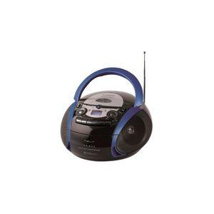RADIO CD CASSETTE Nevir Radio CD Cassette avec USB Couleur Bleu Mode