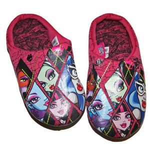 CHAUSSON - PANTOUFLE Chaussons Pantoufles Fille Confortable Monster Hig