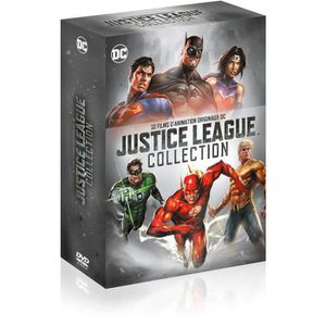 DVD DESSIN ANIMÉ Coffret de dessin animé Justice League Collection