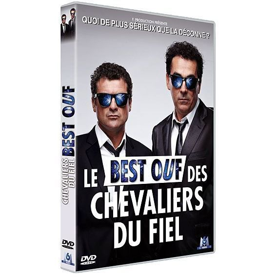 dvd les chevaliers du fiel le best ouf en dvd film pas. Black Bedroom Furniture Sets. Home Design Ideas