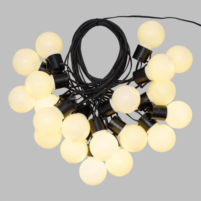 Ex-Pro ® 6 m statique blanc chaud Corde Lumière Pour Noël BARBECUE PARTY parties