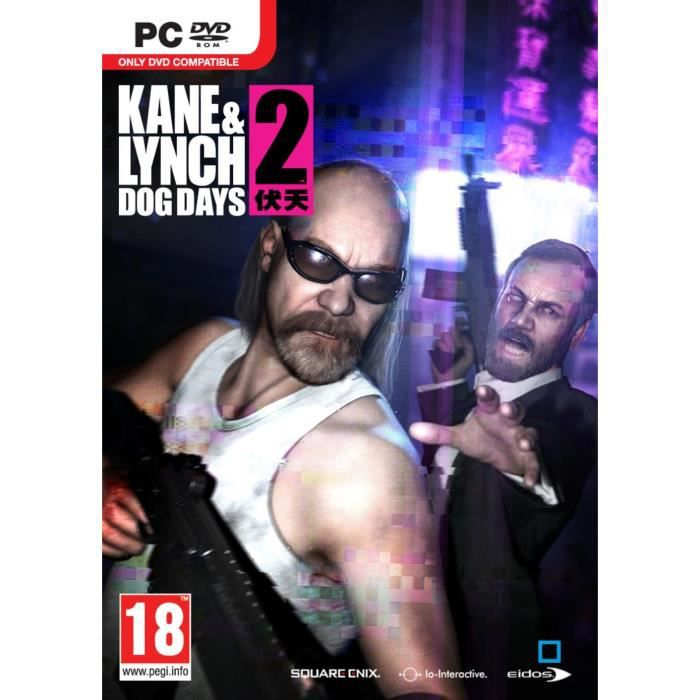 JEU PC KANE & LYNCH 2 DOG DAYS / Jeu PC