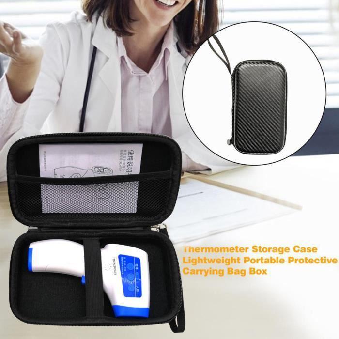 Thermomètre frontal Thermomètre auriculaire Sac de rangement Boîte de protection Sac à main portable PACK PRODUITS DE FITNESS ET