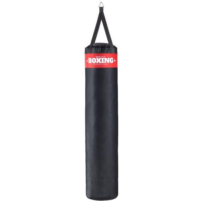 SOGO Sport Sac de frappe rembourre boxe punch bag kickboxing Arts Martiaux [XXXL env. 140x35cm]