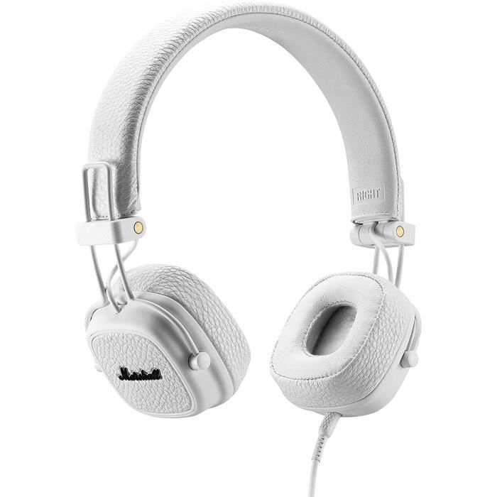 Marshall Major III Casque Audio Filaire - Blanc