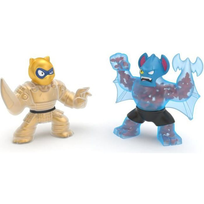 PACK DUO FIGURINES 11CM PANTARO VS BATTAXE - GOO JIT ZU SAISON 2