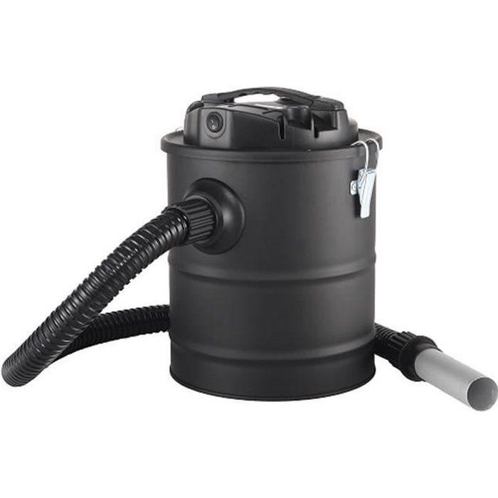 Evatronic - aspirateur à cendres chaudes 8l 800w - 001852