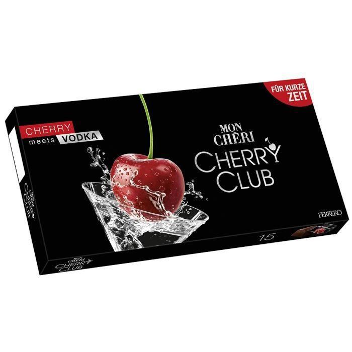 Ferrero Mon Cheri Cherry Club Vodka Limited Edition 157g