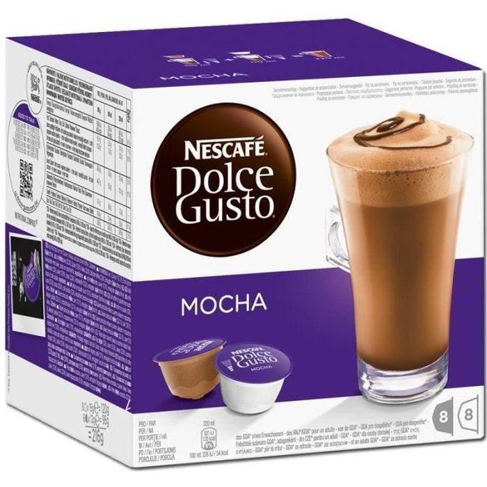 Nescafe Dolce Gusto Mocha Café - 16 capsules - 216 g