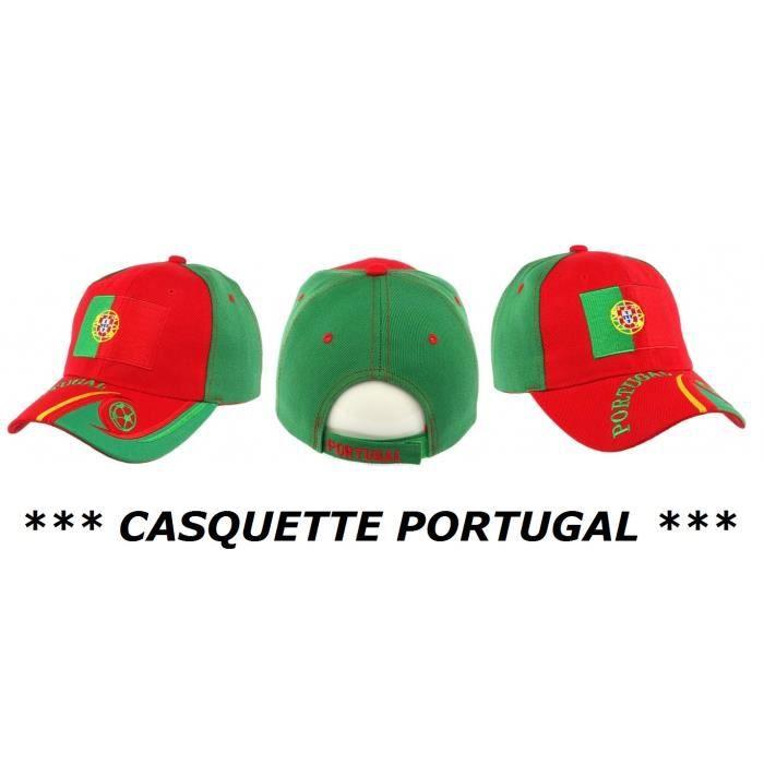 CASQUETTE PORTUGAL HOMME FEMME FILLE GARCON ENFANT No écharpe drapeau maillot fanion ...