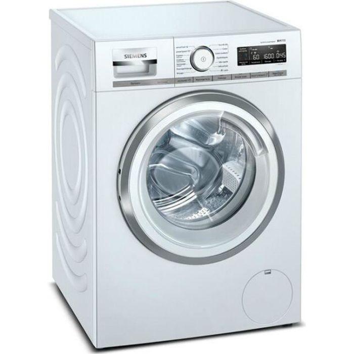 siemens - lave-linge frontal 60cm 10kg 1600t a+++ blanc - wm16xlh1ff