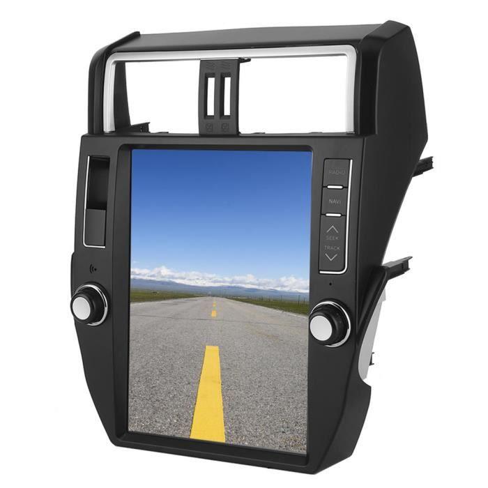 Sonew Autoradio Navigation de Véhicule 12.1po Lecteur Auto de Radio FM Système GPS Écran de Portrait Adapté pour Prado 10‑13