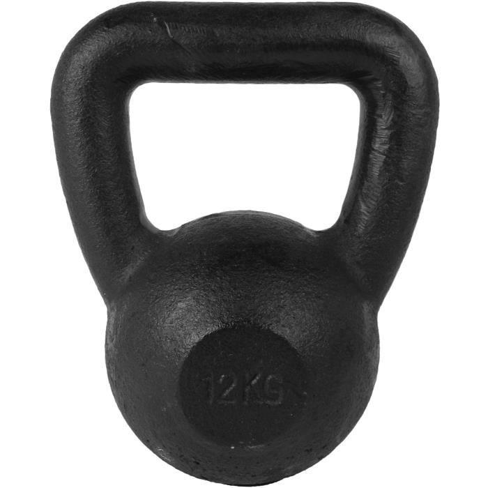 TUNTURI Kettlebell 12kg noir