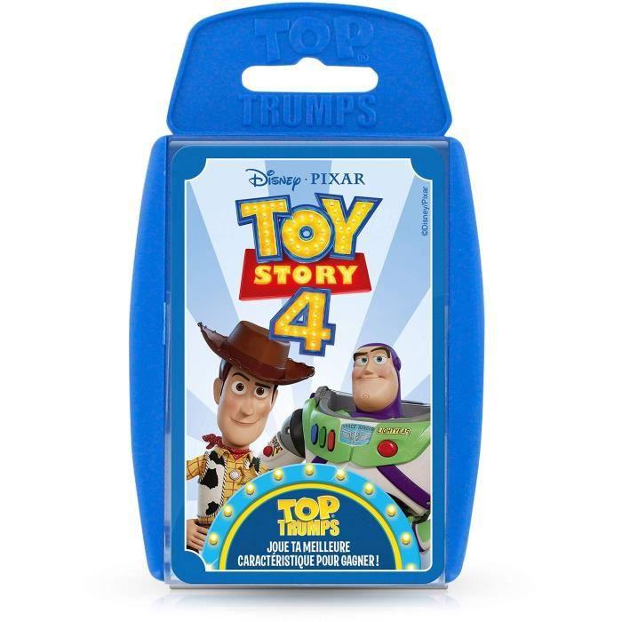 TOP TRUMPS - Toy Story 4 - Jeu de cartes - Version française