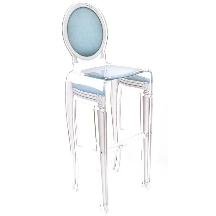 acrila tabouret de bar sixteen bleu ciel achat. Black Bedroom Furniture Sets. Home Design Ideas