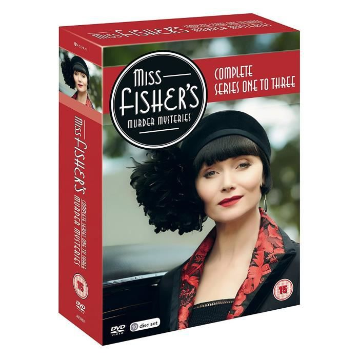 DVD FILM Miss Fisher'S Murder Mysteries: Complete Series 1-