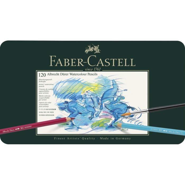 CRAYON GRAPHITE Faber-Castell 117511 Crayons de couleur Albrecht D