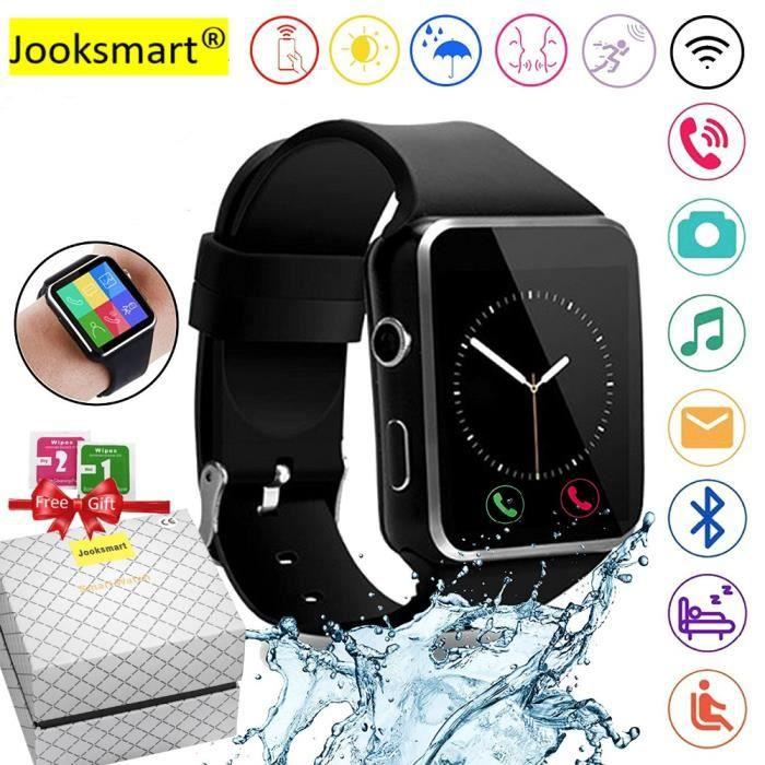 MONTRE CONNECTÉE Montre Connectée Bluetooth Smartwatch Meilleur Mon