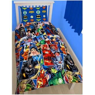 comics avengers housse de couette et taie disney achat. Black Bedroom Furniture Sets. Home Design Ideas